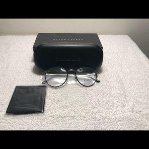 Polo Ralph Lauren Round Black Eyeglasses